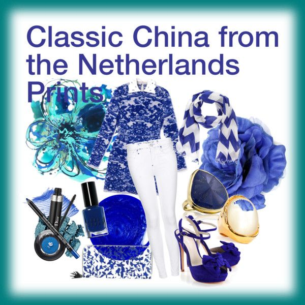 Classic China From The Netherland Prints