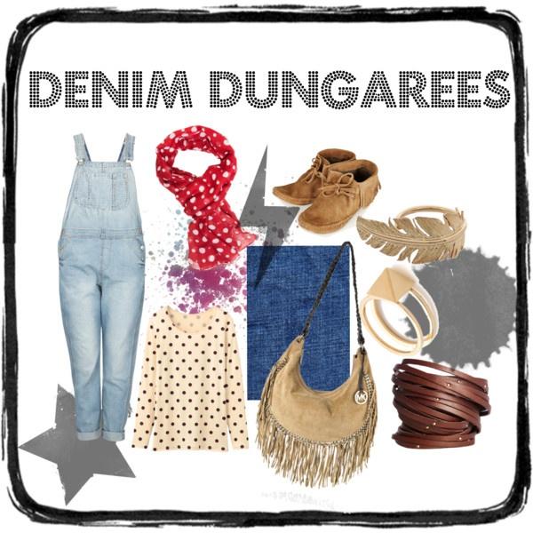 Denim Dungarees