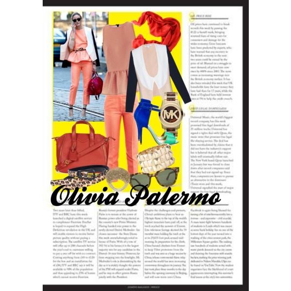 Look alike Olivia Palermo