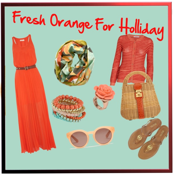 Fresh Orange for Holliday