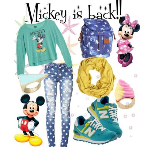 Mickey is back