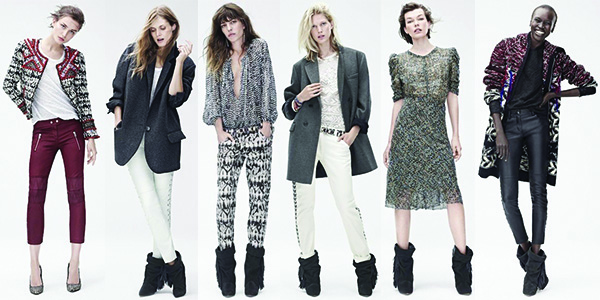 Isabel Marant X H&M Fall 2013 Collection